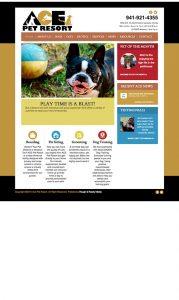 ACE Pet Resort Website