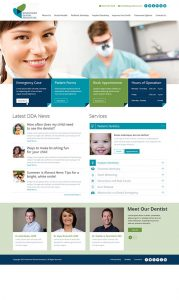 Downtown Dental Associates Website Design by Rough & Ready Media