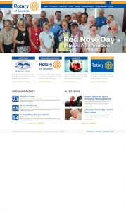 Rotary Club of Sarasota Website Design by Rough & Ready Media