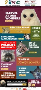 Peace River Wildlife Center Website Design by Rough & Ready Media