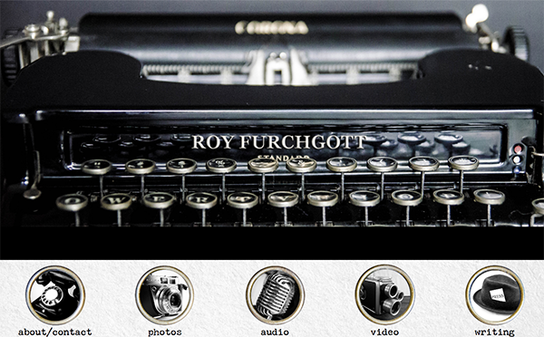 Roy Furchgott Website Design by Rough & Ready Media