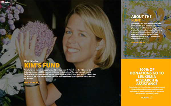 Kim's Funs Website Design by Rough & Ready Media