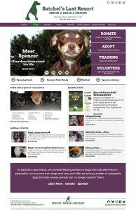 Satchel's Last Resort Website Design by Rough & Ready Media