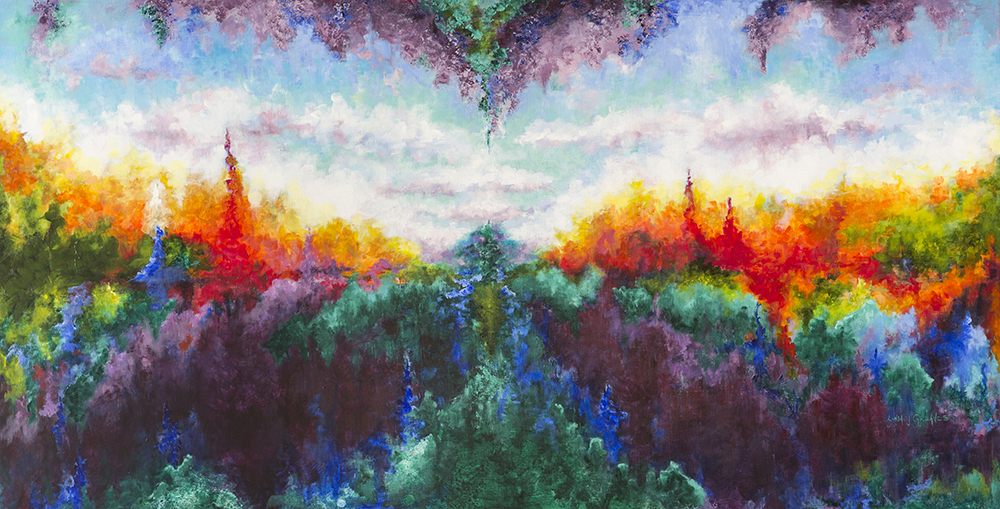 """Lifescape,"" by Linda Greaves . View more of Linda's work at <a href=""https://artistlindagreaves.com"">artistlindagreaves.com</a>."