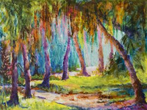 """Follow the Path"" View more of Linda's work at <a href=""https://artistlindagreaves.com"">artistlindagreaves.com</a>."