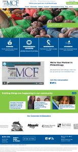 Manatee Community Foundation Website Design by Rough & Ready Media