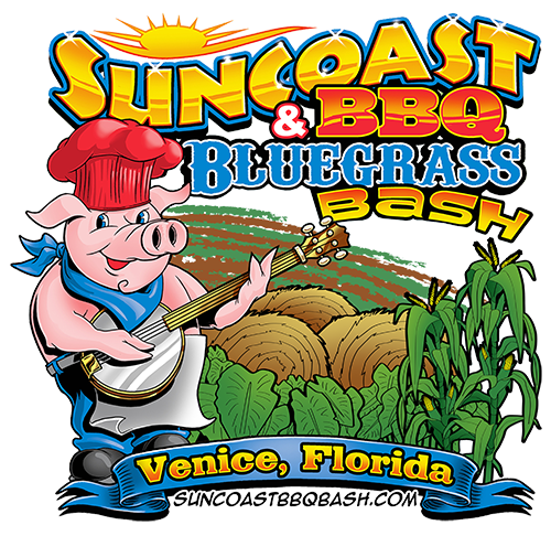 Suncoast BBQ & BLuegrass Bash logo