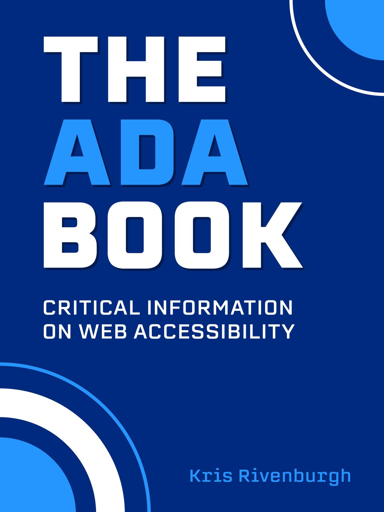 the ada book cover