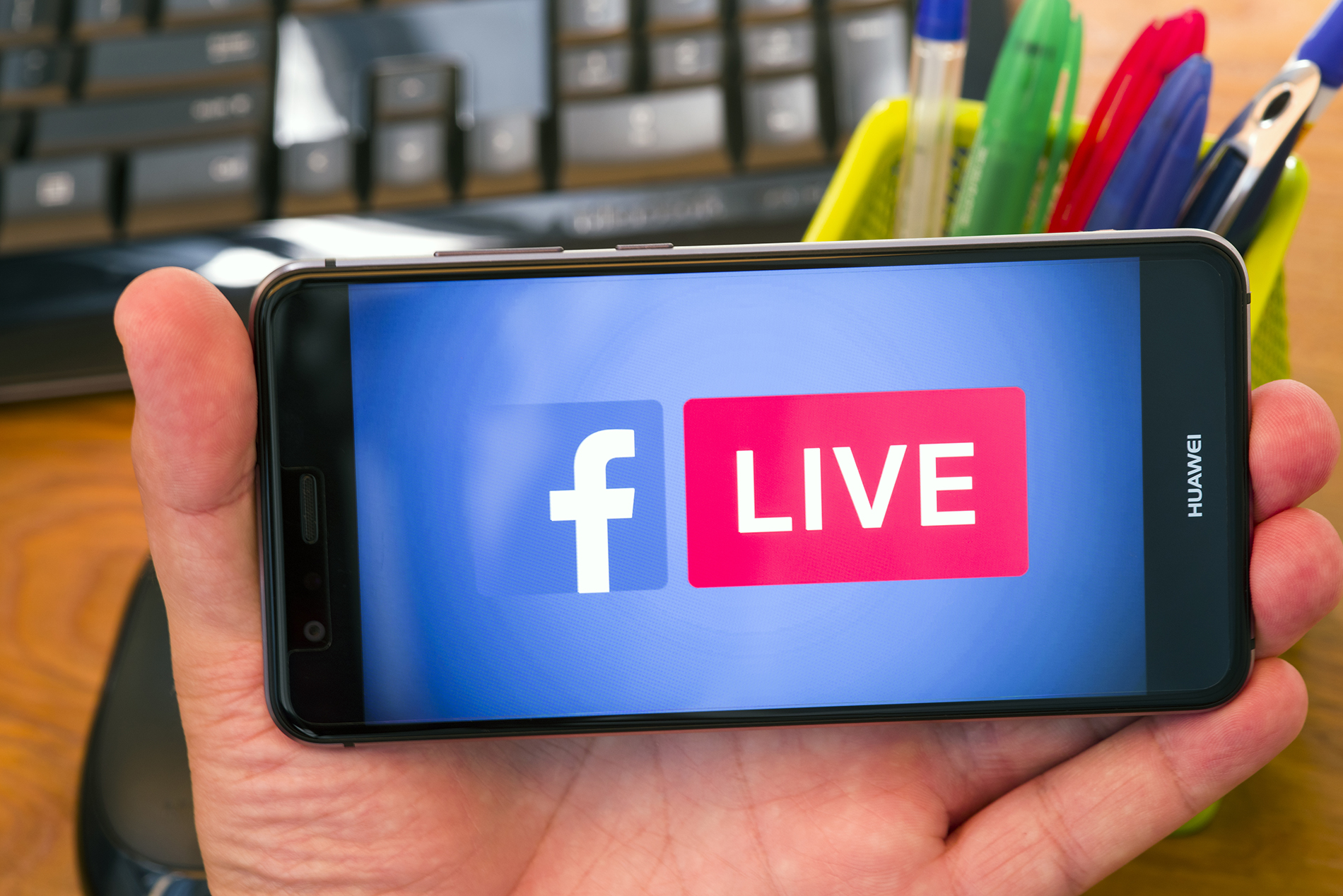 Facebook Live Rough and Ready Media